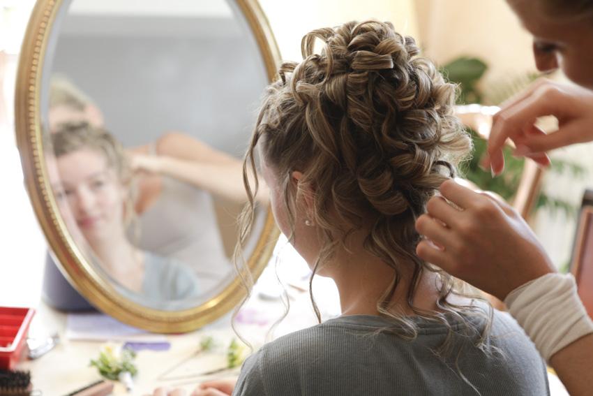 La préparation de la mariée 1