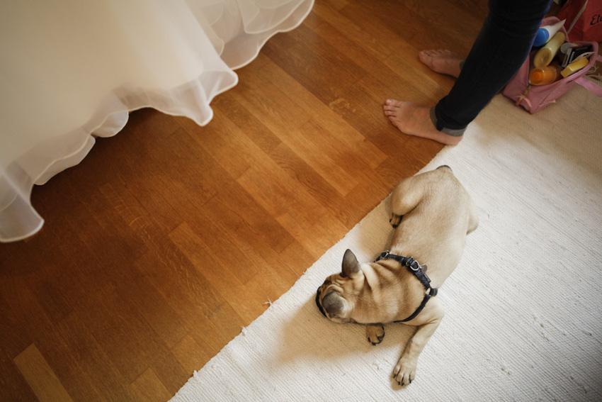 La préparation de la mariée 4